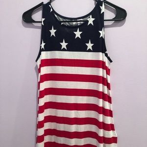 Old Navy American Flag tank top